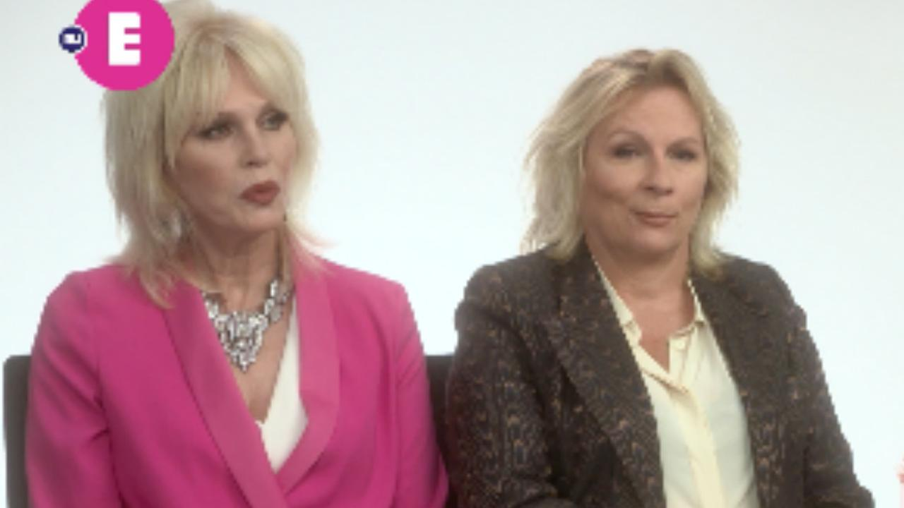 Jennifer Saunders en Joanna Lumley over Absolutely Fabulous: The Movie