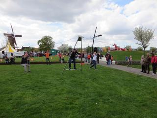 Burgemeester verricht officiële opening in Schoenmakerspark