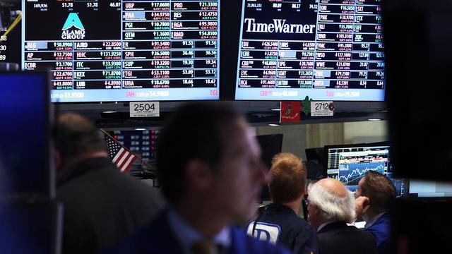 Geen sprake van herstel na forse daling van maandag op Wall Street