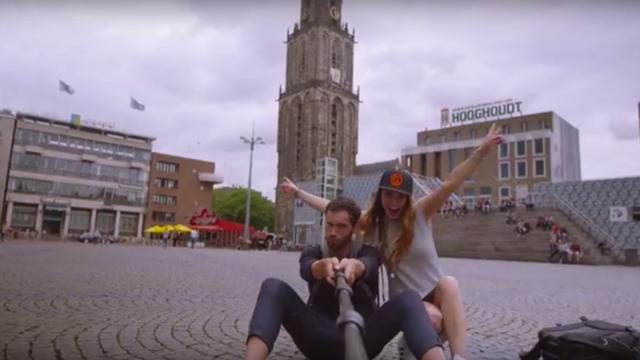 Spotje lokt stedentrippers naar Groningen