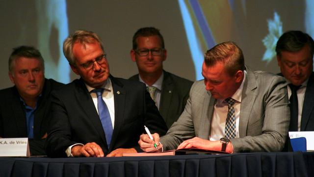 Gerben Dijksterhuis geïnstalleerd als nieuwe burgemeester Borsele