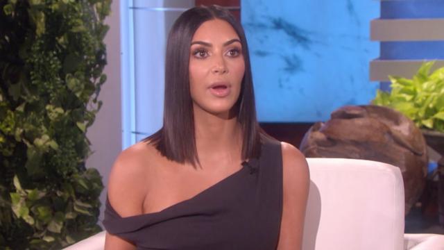 Hierom werd Kim Kardashian naar eigen zeggen beroofd