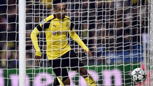 Aubameyang maakt aansluitingstreffer voor Dortmund