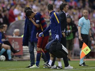 Aanvaller Barcelona valt geblesseerd uit in bekerfinale tegen Sevilla