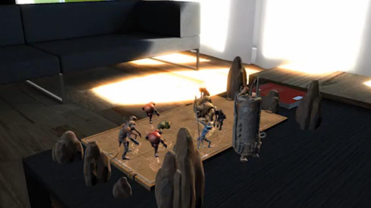 Holografisch schaken met 3D-monsters