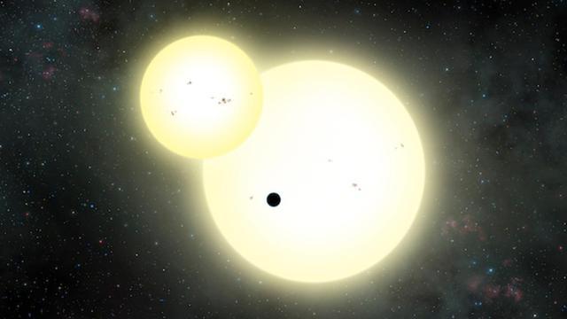 'Grootste planeet met twee zonnen uit heelal ontdekt'