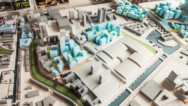 Nog zeven belangrijke keuzes te maken voor nieuw stadscentrum