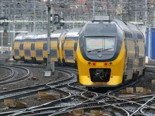 ProRail werkt dat weekend aan het spoor tussen Bodegraven en Woerden