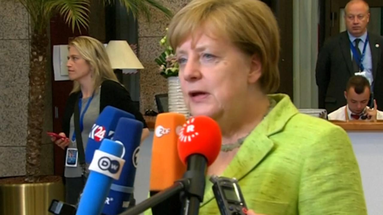 Merkel spreekt van 'goede start' Brexit-onderhandelingen