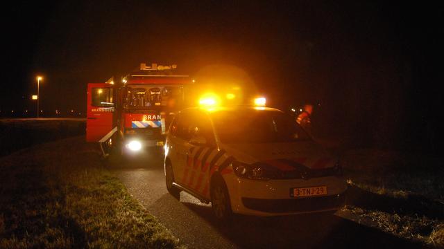 Brandstichting bij jongerenhuisje in Leiderdorp