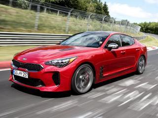 Instapmodel van Kia's sportieve zakenauto kost bijna zestigduizend euro, topmodel meer dan een ton.