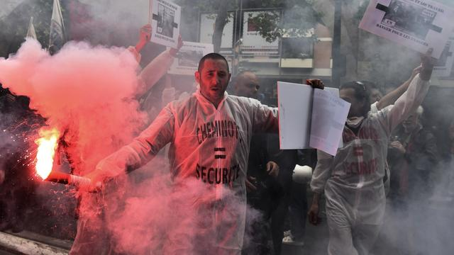 Rellen in Franse steden bij protesten tegen arbeidswetgeving