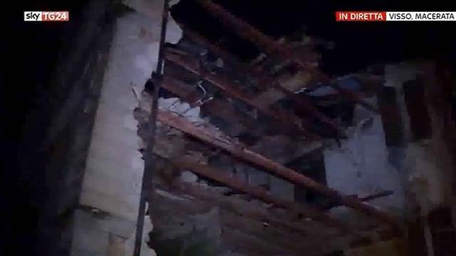 Eerste beelden van nieuwe aardbeving in Italië