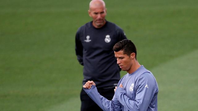 Zidane gunt Ronaldo negentig minuten tegen oude club Sporting
