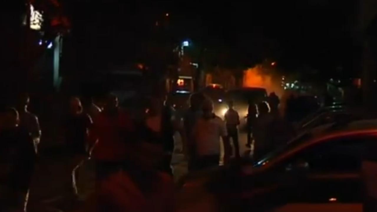 Egyptische troepen schieten traangas naar demonstranten Caïro