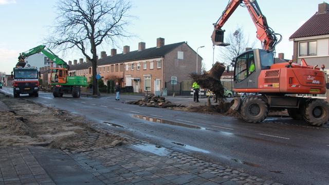 Reconstructie Bredaseweg van start gegaan