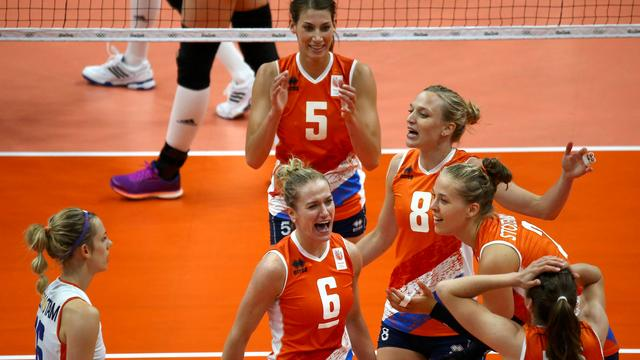 Volleybalsters verslaan Rusland in World Grand Prix