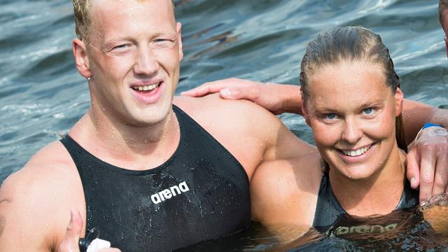 FINA roept Weertman en Van Rouwendaal uit tot beste openwaterzwemmers