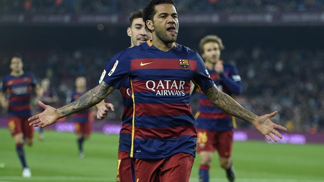 Dani Alves na acht jaar weg bij FC Barcelona