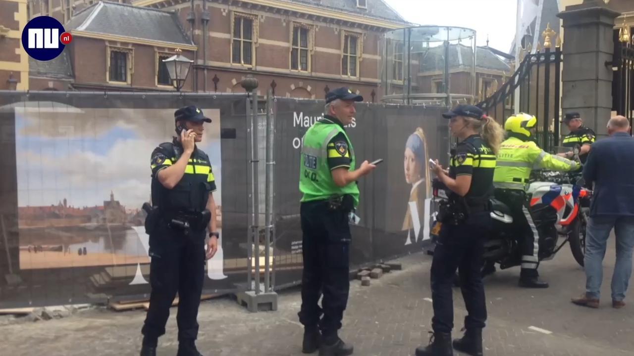 Binnenhof Den Haag korte tijd ontruimd