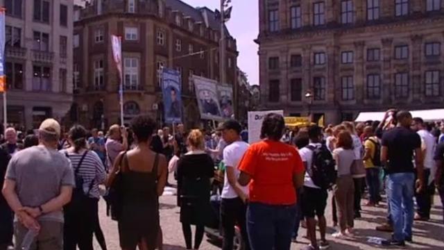 Honderden mensen bij demonstratie 'Black Lives Matter'