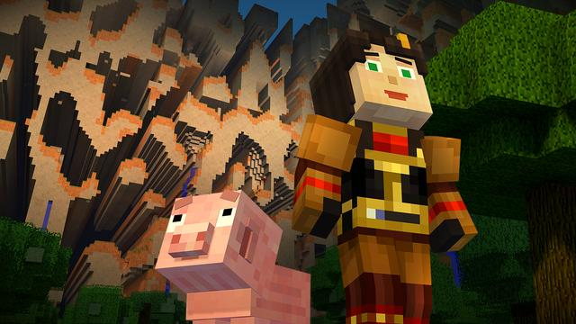 Minecraft: Story Mode deze week naar Wii U
