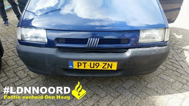 Boete voor verkeerd nagemaakte Pools-Nederlandse kentekenplaten
