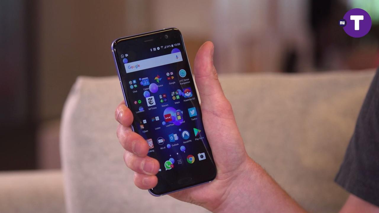 Review: HTC U11 met speciale knijpfunctie