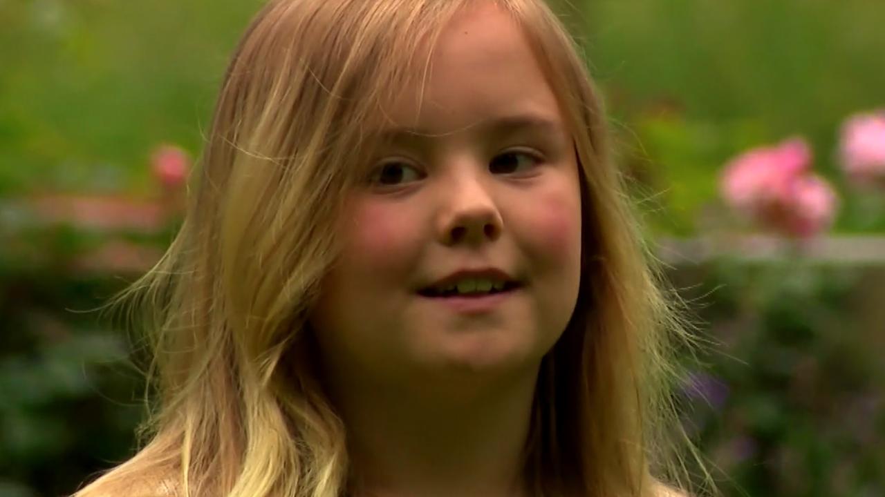 Dit kreeg prinses Ariane voor haar tiende verjaardag