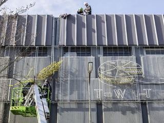 Utrechters ontfermen zich over lichtkunstwerk