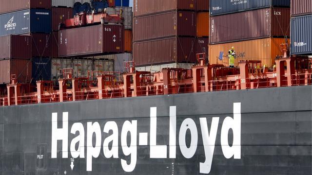 Containervervoerder Hapag-Lloyd houdt last van moeilijke markt