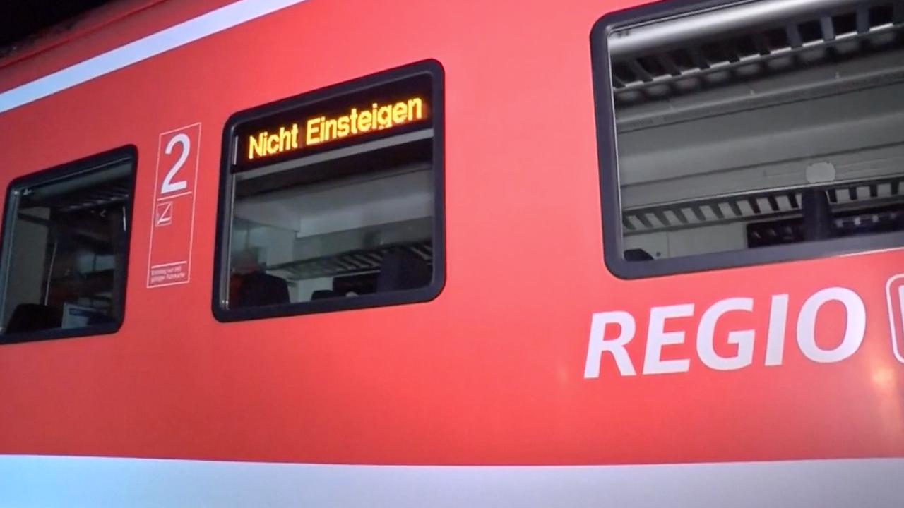 Politie onderzoekt Duitse trein na aanval