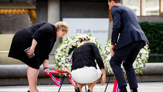 Noren herdenken aanslagen Breivik