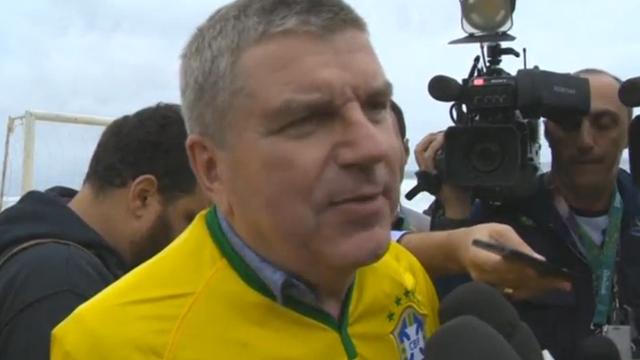 IOC-voorzitter heeft vertrouwen in laatste voorbereidingen Spelen