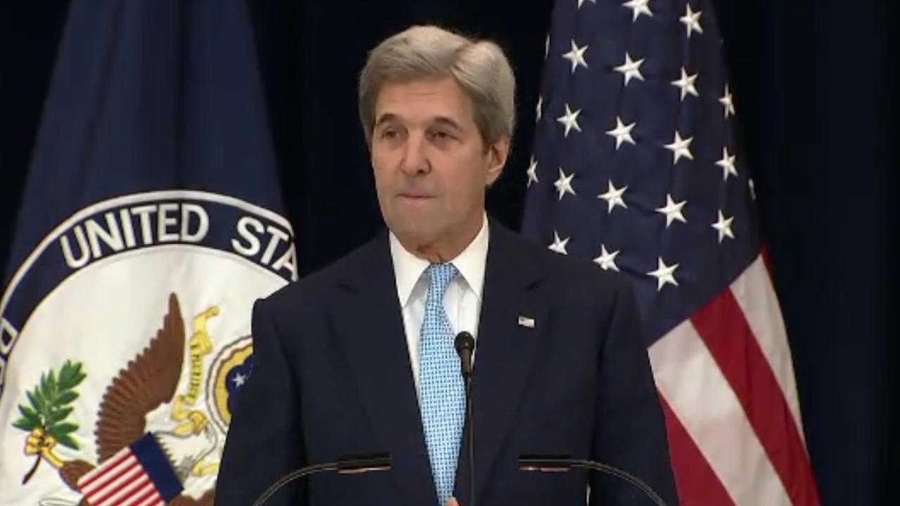 John Kerry ziet twee staten als oplossing conflict Israël en Palestina