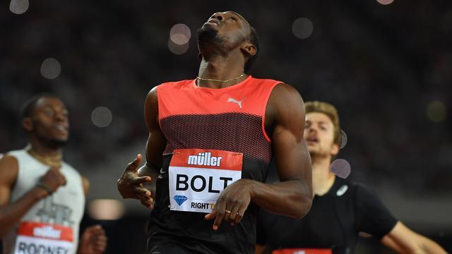 Bolt wint in Londen eerste en enige 200 meter in aanloop naar Spelen