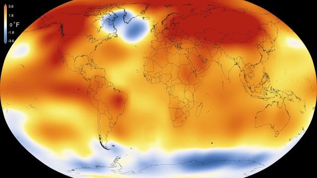 2015 is warmste jaar ooit gemeten