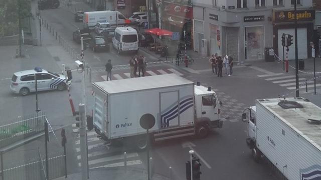 Urenlange politie-actie in Brussel ten einde na vals alarm