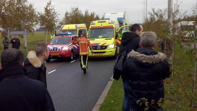 Geen explosieven aangetroffen bij ontruimd bedrijf bij Schiphol