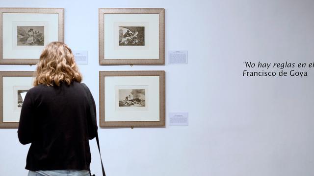 Kostbare etsen van Goya ontdekt