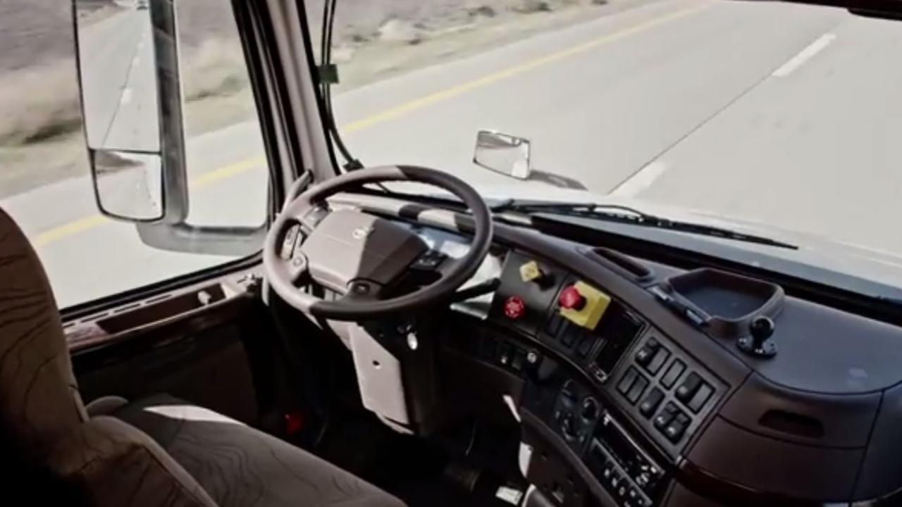 Zelfrijdende vrachtwagen moet chauffeur meer rust geven
