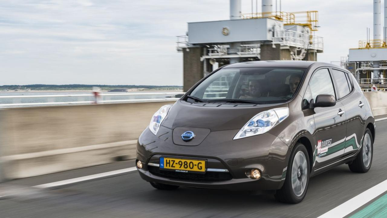 Nissan Leaf roadtrip