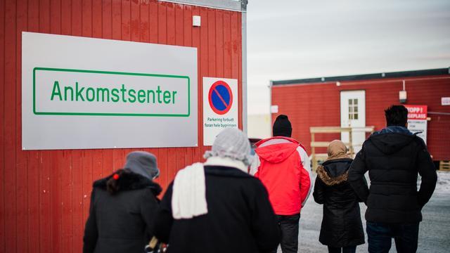Noorwegen bouwt hek tegen vluchtelingenstroom