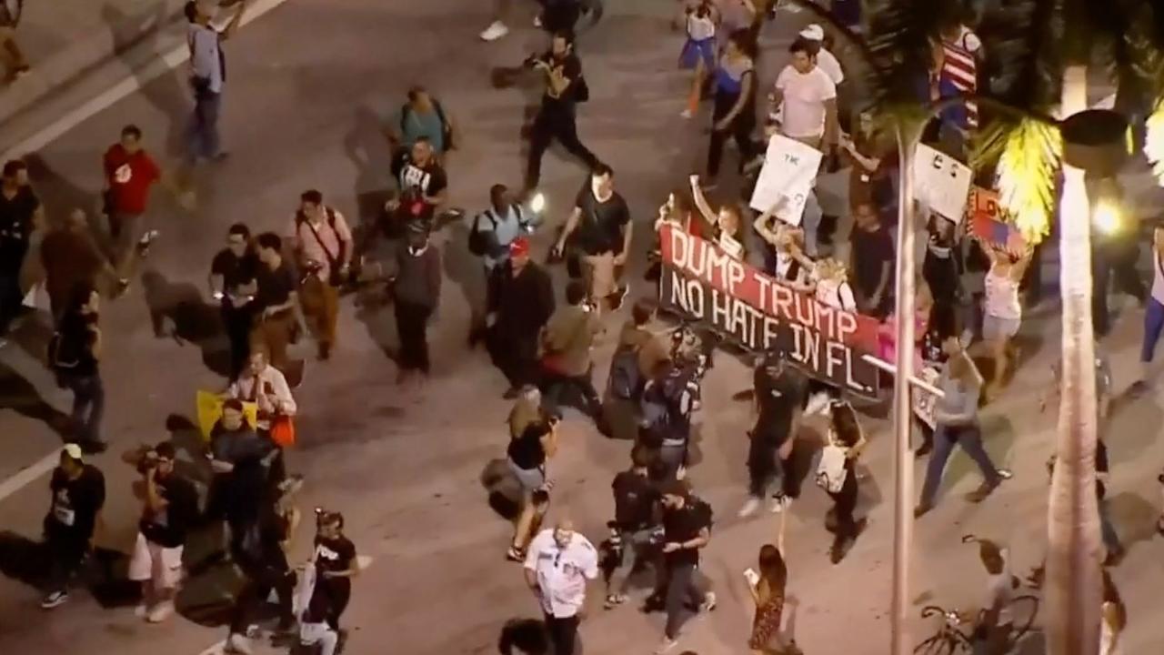 Opnieuw protesten in Amerikaanse steden tegen Trump