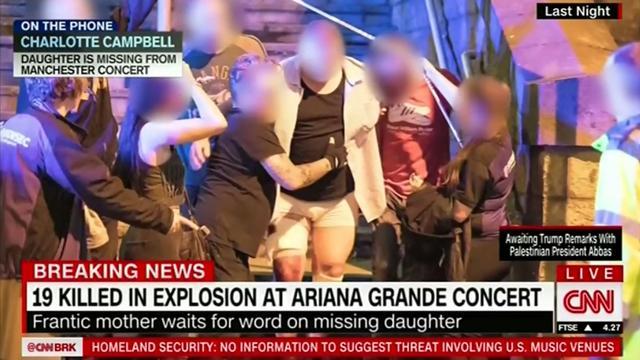 Livestream CNN: Nasleep zelfmoordaanslag Manchester