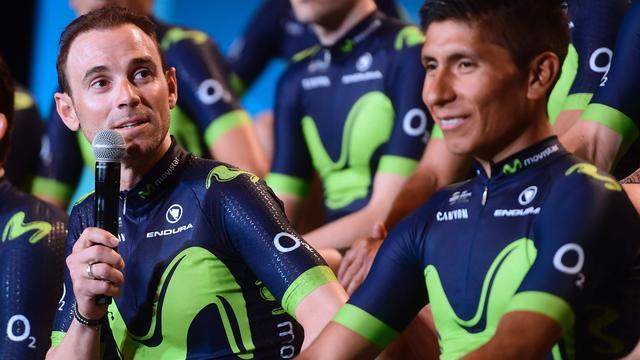 Movistar heeft Tourploeg rond Quintana en Valverde rond