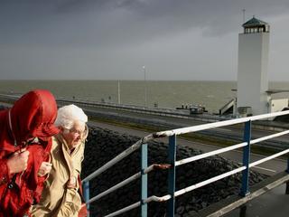 Waterschappen malen polders leeg in voorbereiding op storm