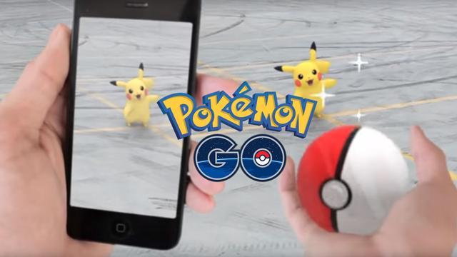Preview: Pikachu vangen op de parkeerplaats met Pokémon Go