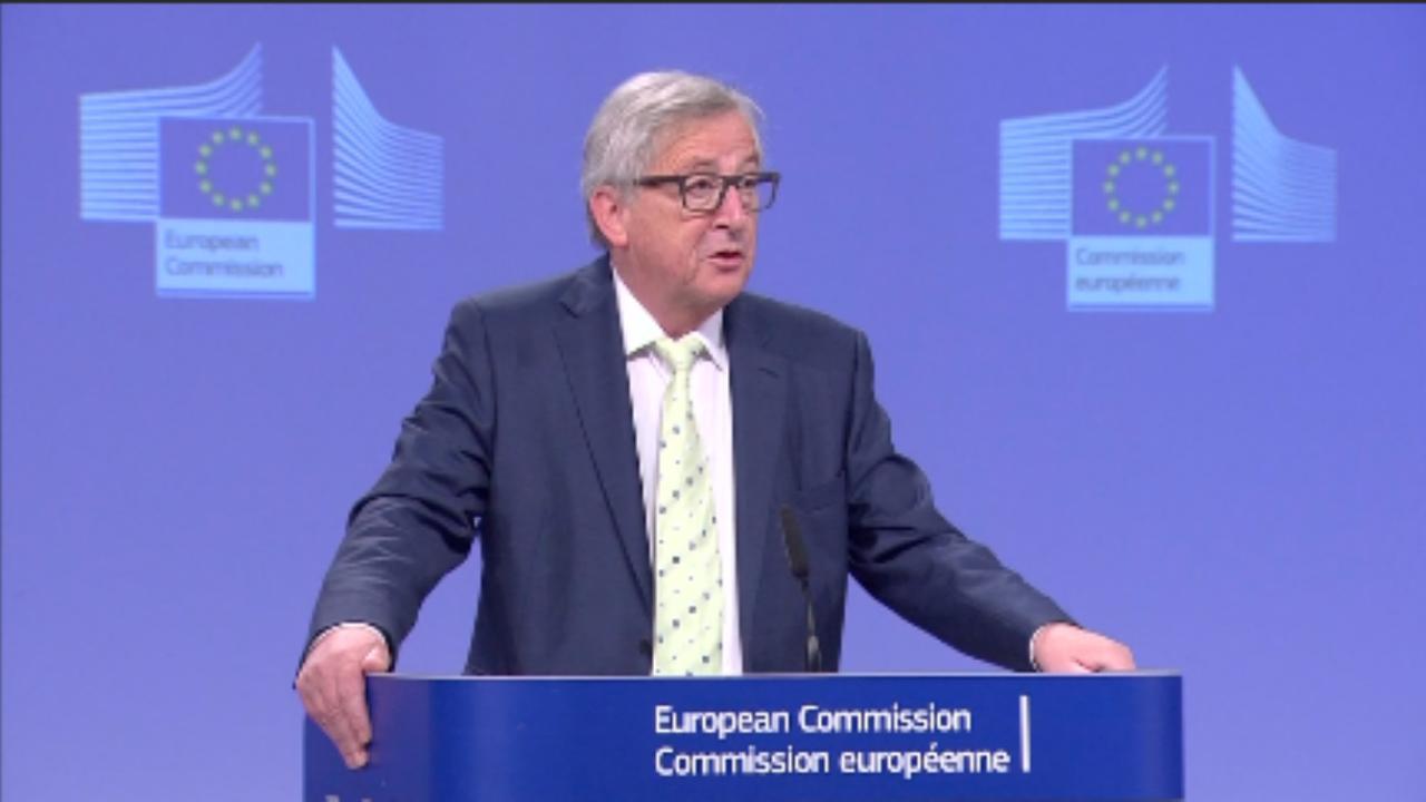 Juncker reageert op Brexit