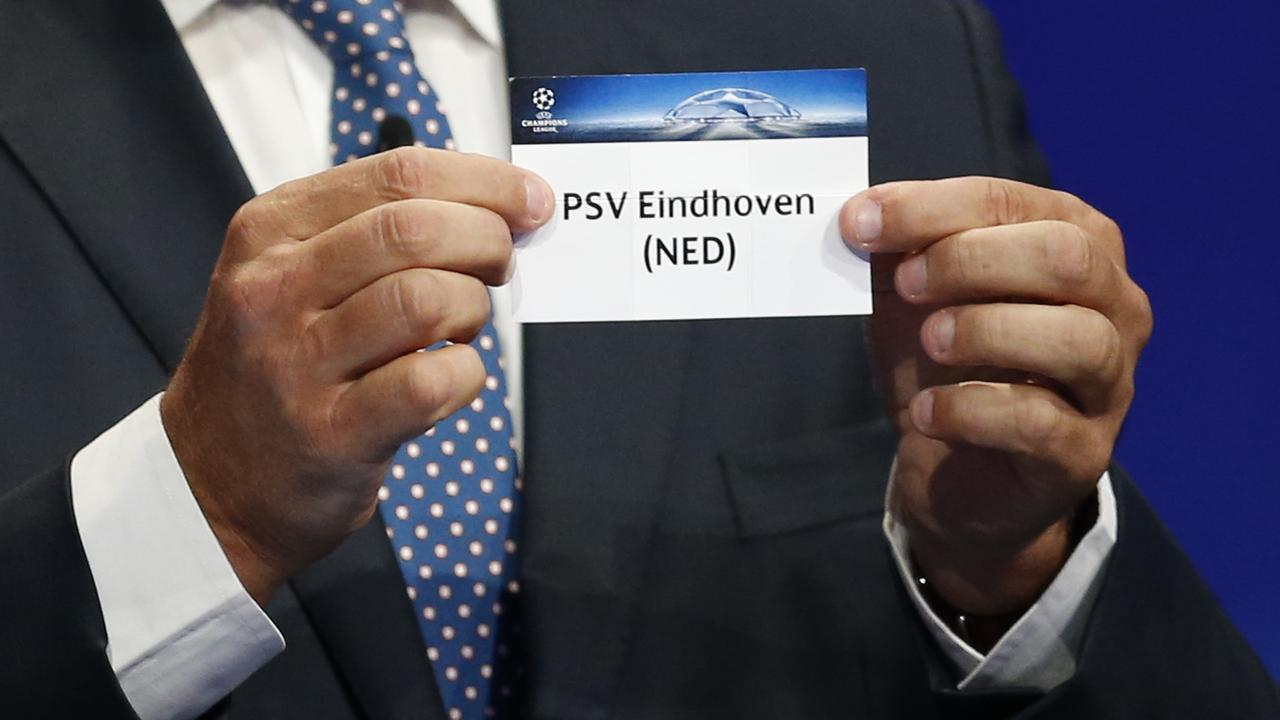 Champions League Loting Picture: PSV Loot Atletico Madrid In Achtste Finales Champions